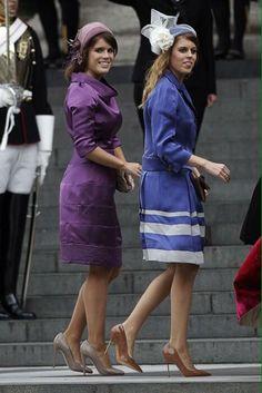 Beatrice and Eugenie of York