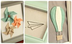 Ready for part two of my light & airy wall art? (You can see part 1 here )          I really love how the embroidered paper airplane came ...