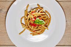 #pasta #pici #pomodorini e #basilico #spassofood #cucinadapasseggio