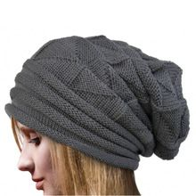 Fashion Bonnet Femme Women Winter Hat Female Winter Beanie Crochet Hat Knit Warm…
