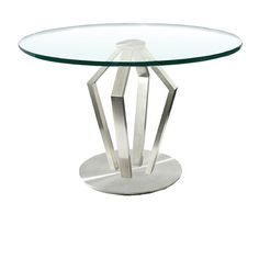 steel round dining table - Google Search