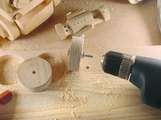 """How to Easily Make Small (under 3"""") Perfect Wood Toy Wheels #WoodworkingToys"""