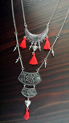 Bohemian aztec tassel necklaces Tassel Necklace, Necklaces, Sumerian, Ss 15, Constellations, Aztec, Mythology, Tassels, Bohemian