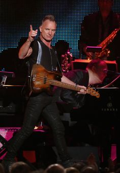 Sting performs at MusiCares event February 8, 2013