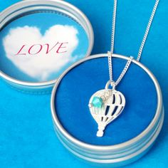 Write your own Message In The Sky to someone special. At CharmedByLucy we offer a range of gifts with bespoke, personalised messages. Air Balloon, Balloons, Sky And Clouds, Thank You Gifts, Little Gifts, Bridesmaid Gifts, Happy Shopping, Bespoke, Jewelry Gifts