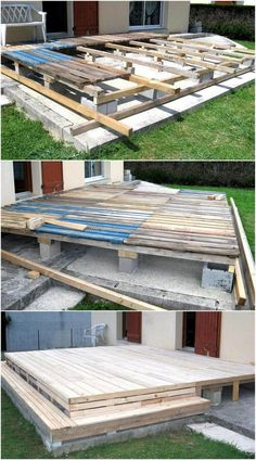 wood pallet terrace ideas 13