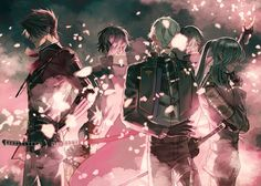 Together we stand & fight Nikkari Aoe, Together We Stand, Dance Images, Epic Art, Ex Machina, Bishounen, Handsome Anime, All Anime, Anime Boys