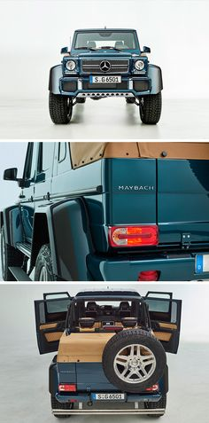 The new Mercedes-Maybach G 650 Landaulet. Strictly limited: open-air luxury both on- and off-road. [Mercedes-Maybach G 650 | Fuel consumption combined: 17.0 l/100km | combined CO₂ emissions:  397 g/km | http://mb4.me/efficiency_statement]
