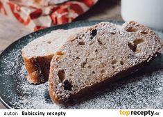 Babiččina špaldová vánočka recept - TopRecepty.cz Pesto, Banana Bread, Food, Meals, Yemek, Eten