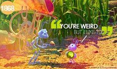 Weird pixar quote via Simple Disney Things