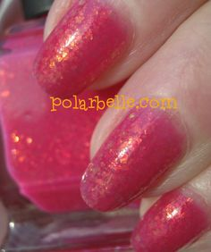 Want this right MEOW!  Please click thru to see this Beautiful Deborah Lippmann flakied jelly polish.