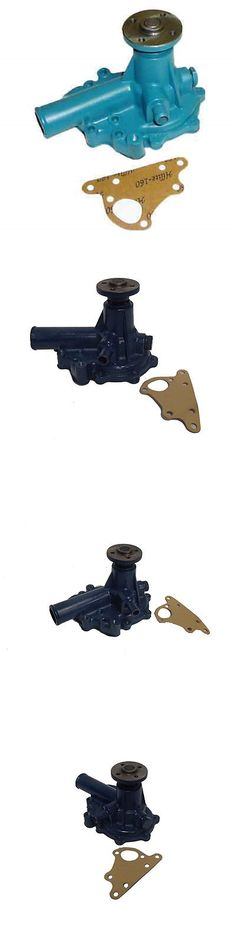 heavy equipment: Sba145016780 Water Pump For Ford New Holland Tractor 1320 1520 1620 1715 BUY IT NOW ONLY: $79.5