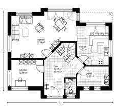 Fertighaus Massivhausbau Lüdinghausen Senden Dülmen Selm Drensteinfurt Co … Stommel Haus, The Sims 2, Prefabricated Houses, Mediterranean Style, Burning Candle, My Dream Home, Planer, House Plans, Modern Design