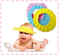 d08b9ed8a9f Soft Baby Kids Children Shampoo Bath Bathing Shower Cap Hat Wash Hair Shield