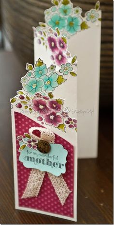 Stampin' Up! Card  by Monica Gale at My Many Passions: Mother's Day