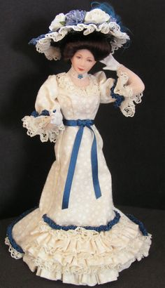Edwardian porcelain doll by Mary Williams