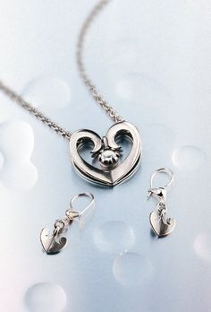 Kalevala Koru - Kastehelmi - korvakorut Finland, Jewerly, Jewelry Accessories, Bracelets, Silver, Design, Fashion, Moda, Jewlery