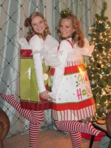 Costume idea... children are a gift!  love it!  would be fun if Christmas caroling or parade