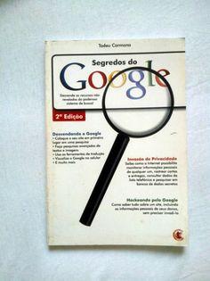 """Doação de 1 Livro """"Segredos do Google"""" - #doacao #livro #google #gratis"""