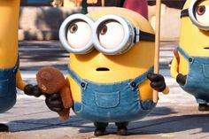 If you've seen Minions, then you already know that Bob (AKA King Bob) is the cutest minion of them all. Minions What, Minions Bob, Minions Cartoon, Cute Minions, Minion Jokes, Cartoon Pics, Despicable Me Memes, Minion Rock, Sid The Sloth