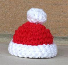 schema uncinetto - cappellino di Natale
