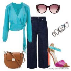 Todo azul do mundo! Veja post completo em www.carolinedemolin.com.br. #moda #fashion #tendencias #trend #personalstylist #personalstylistbh #consultoriademoda #consultoriadeimagem #imagem #identidade #fashionblogger #looks #lookdodia #lookoftheday #estilo #style #sophiawebster #loveshoes #shoes  #crisbarros #7forallmankind #schutz #brianatwood #chloe #julianamanzini www.carolinedemolin.com.br