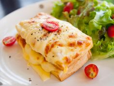 Croque Amy #recipes #food #drink #cuisine #boissons #recettes