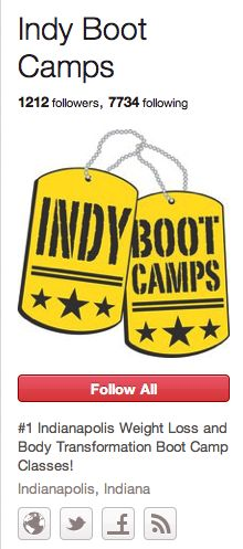Indy Boot Camps Local Weight Loss Body transformation boot camp is doing #business on Pinterest