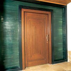 custom made wooden entry, #door by US Door & More Inc., via Flickr