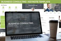 Business Consulting - Keynote Template by SlideFactory on Envato Elements Presentation Design Template, Design Templates, Image Layout, Business Proposal, Social Media Logos, Keynote Template, Color Themes, Infographic, Finance