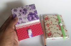 Bloquinhos e mini cadernos em cartonagem