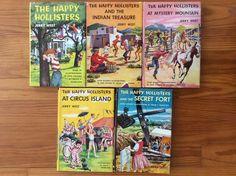 Happy Hollisters Lot Of (5) Books HC/DJ Vols 1, 4, 5, 8, 9