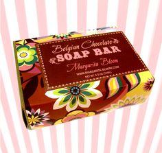 Belgian Chocolate Soap by MargaritaBloom on Etsy, $8.00