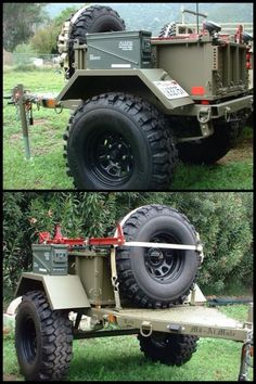 Military M8 off-road trailer: