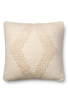 Loloi x Magnolia Diamond Woven Pillow available at #Nordstrom