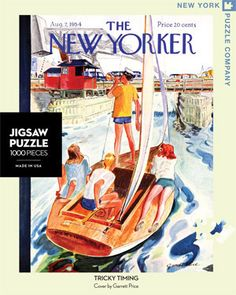 Tricky Timing – New York Puzzle Company. 1000 piece puzzle.