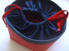 drawstring with tutorial (or leave the gather at the top off) Full of Beans (11) by june at noon, via Flickr