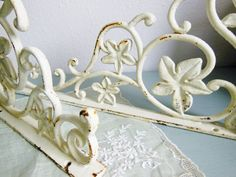 Hey, I found this really awesome Etsy listing at http://www.etsy.com/listing/159771957/2-vintage-cast-iron-art-nouveau-shabby