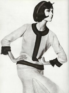1960 - Chanel suit by Irving Pen
