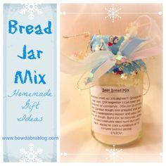 DIY Holiday Food and Treats: Bread Jar Mixes