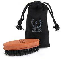 Zeus Boar Bristle Pocket Beard Brush for Men - Firm Bristle Small Beard Brush - Made in Germany - Hipster Beard Products Beard Brush, Hair Brush, Hipster Beard, Perfect Beard, Boar Bristle, Hair Removal Cream, Flaky Skin, Awesome Beards