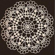 Free Crochet Doily Patterns | Chair Set Patterns | Free Vintage