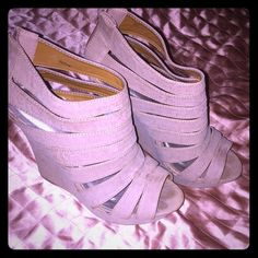 Charlotte Russe Wedges Charlotte Russe Beige Wedges. Only wore 1x. Gorgeous wedges and very comfortable  Charlotte Russe Shoes Wedges