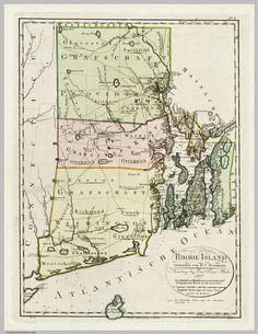 Rhode Island Map (1797)