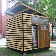 10×10 microhouse by Northern Timbers Construction