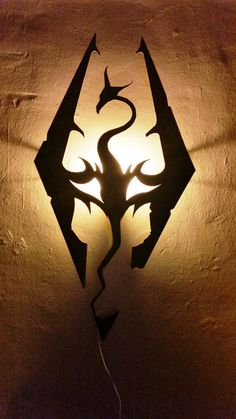 Skyrim Wall Light