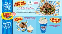 April's Featured Menu of the Month! Cake Cover, Soft Serve, Cake Toppings, Worms, Icing, Cereal, Menu, Chocolate, Breakfast
