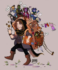 """""""Happy 5 years of ✨ Thanks for your story and magic brought in my life. Critical Role Characters, Critical Role Fan Art, 3d Character, Character Concept, Character Design, Dungeons And Dragons, Mighty 9, Critical Role Campaign 2, Robot Art"""