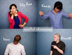 Soulful Obsession.  Find them on Facebook and listen to this AMAZING local band from San Jose: their soulful, sultry, jazzy tunes will make you dance <3