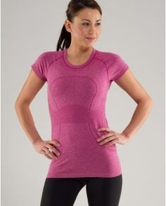 Lululemon running shirt - antibacterial and doesn't smell even after a session of bikram yoga!